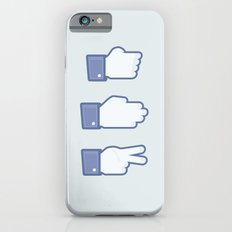 I Like Rock, Paper, Scissors Slim Case iPhone 6s