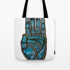 The Hand Of (Free)Time Tote Bag