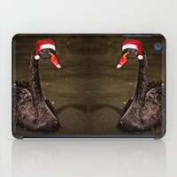 Tis The Season - Swan iPad Case
