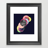 REPEAT SYSTEM Framed Art Print
