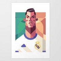 CR7   Los Merengues Art Print