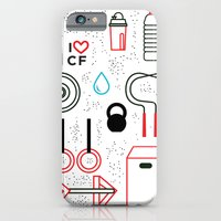 iPhone & iPod Case featuring CrossFit Love by Golden Heart
