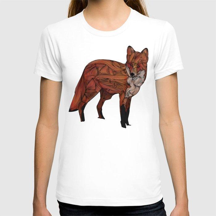 ab481fb9d ... Red Fox Collage Shirt: Red Fox T-shirt By Ben Geiger