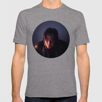The Watcher Mens Fitted Tee Tri-Grey SMALL