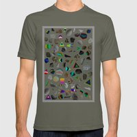building site light Mens Fitted Tee Lieutenant SMALL