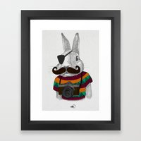 Wabbit Framed Art Print