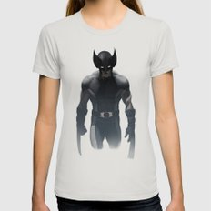 Wolverine X Force Womens Fitted Tee Silver SMALL