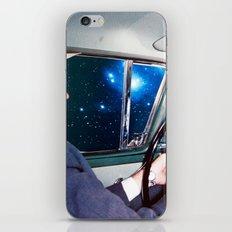 night driving iPhone & iPod Skin