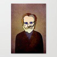 Prophets of Fiction - Frank Herbert /Dune Canvas Print