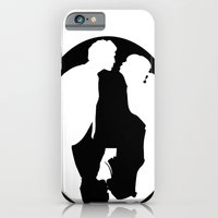 Pushing Daisies silhouette kiss iPhone 6 Slim Case