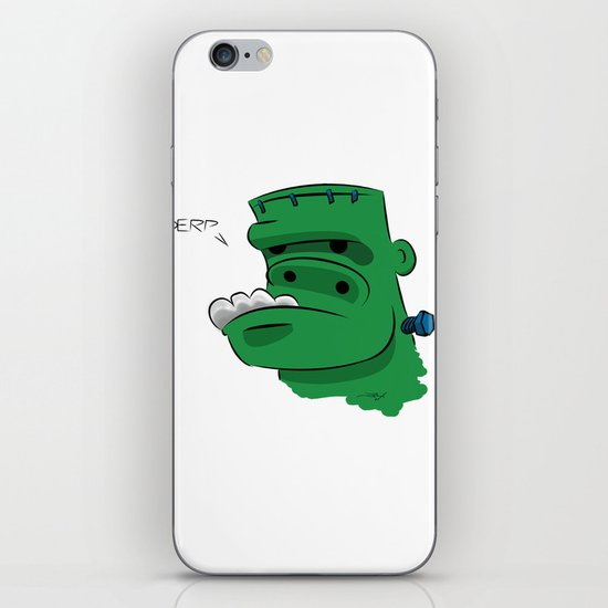 Frankenderp iPhone & iPod Skin