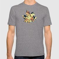 Autumnally  Mens Fitted Tee Tri-Grey SMALL