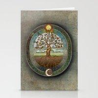 Ouroboros Stationery Cards