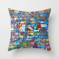 Shawn (Goldberg Variations #28) Throw Pillow