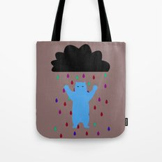 RETRO RAIN DANCE Tote Bag