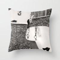 Swing # 3 Throw Pillow