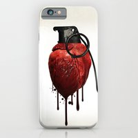 iPhone & iPod Case featuring Heart Grenade by Nicklas Gustafsson