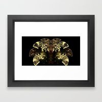Insecte Eventail  Framed Art Print