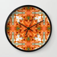 Abstract Kaleidoscope Of… Wall Clock
