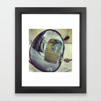 Aviator Starbucks Framed Art Print