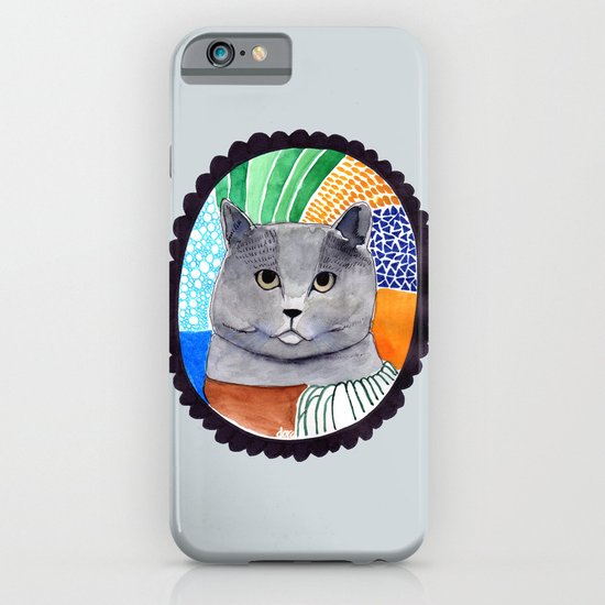 KITTY / GREY iPhone & iPod Case