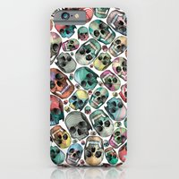 iPhone & iPod Case featuring Skulls by Devin McGrath