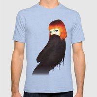 The Girl 5 Mens Fitted Tee Tri-Blue SMALL