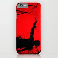 iPhone & iPod Case featuring The Walking Dead Rick by Roboz