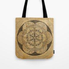 Mandala Dust Tote Bag