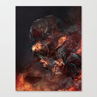 Thoughts of A Dying Atheist Canvas Print