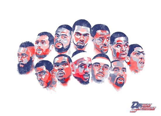 Team USA Art Print