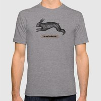 Rabbit Mens Fitted Tee Athletic Grey SMALL
