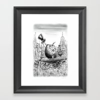 Sky Bosco Framed Art Print