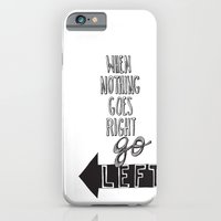 Go Left iPhone 6 Slim Case