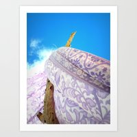 Feel the Breeze Art Print
