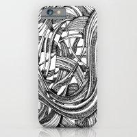 Into The Wild (b&w version) iPhone 6 Slim Case