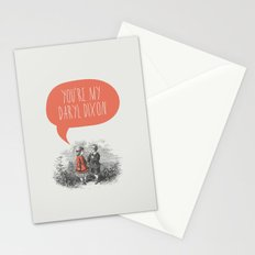 Walking Dead Love Story Stationery Cards
