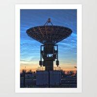 Antenna Art Print