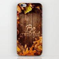 BE GRATEFUL iPhone & iPod Skin