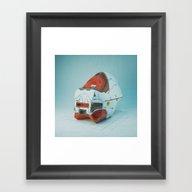 B1-ONE. (everyday 11.13.… Framed Art Print