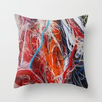 Linear1 Throw Pillow