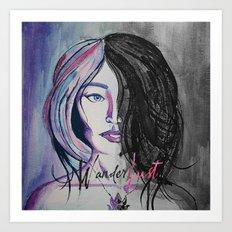 Wander/Lust Art Print