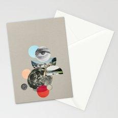 multiverse alt grey Stationery Cards