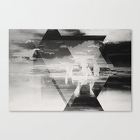 Fractions 22 Canvas Print