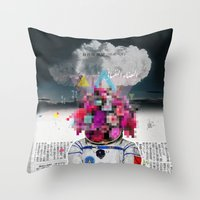 Censored Serenity Throw Pillow