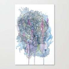 Azul Canvas Print