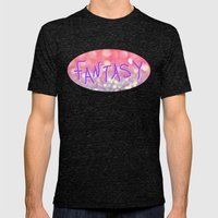 Fantasy Mens Fitted Tee Tri-Black SMALL