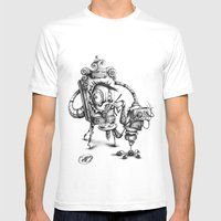 #20 Mens Fitted Tee White SMALL