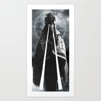 DARKNESS/ENLIGHTENMENT Art Print