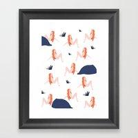Naked Framed Art Print